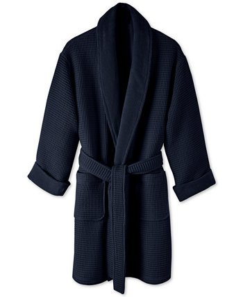 Cotton Waffle Textured Bath Robe, Created for Macy's Hotel Collection