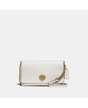 Polished Pebble Leather Crosstown Crossbody COACH