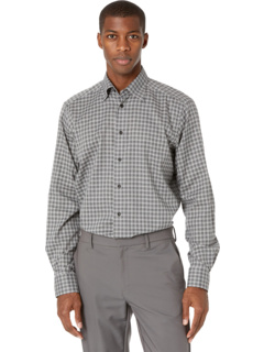 Contemporary Fit Checked Flannel Shirt Eton