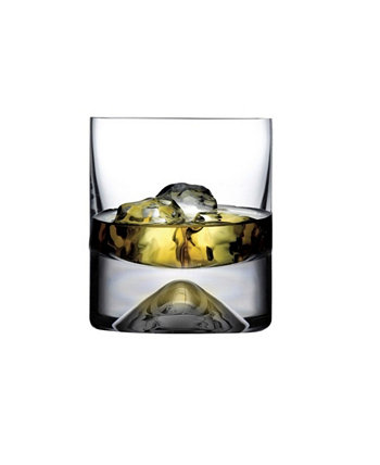 No 9 Whisky Glass, Set of 4 Nude Glass