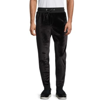 Tapered Velour Sweatpants Cult Of Individuality