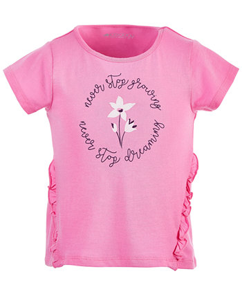 Toddler Girls Ruffled Graphic Cotton T-Shirt, Created for Macy's Ideology
