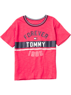 Forever Tommy T-Shirt (Big Kids) Tommy Hilfiger Kids