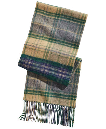 Men's Plaid Cashmere Scarf, Created for Macy's Club Room