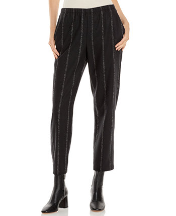Tapered Striped Pants Eileen Fisher