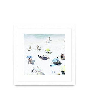 "Happy Days Matted and Framed Art Print, 30"" x 30"" Giant Art"