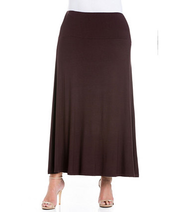 Women's Plus Size Maxi Skirt 24seven Comfort Apparel
