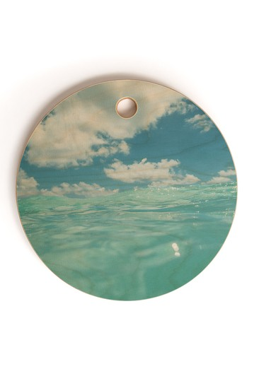 Bethany Young Photography Hawaii Water VII Round Cutting Board Deny Designs