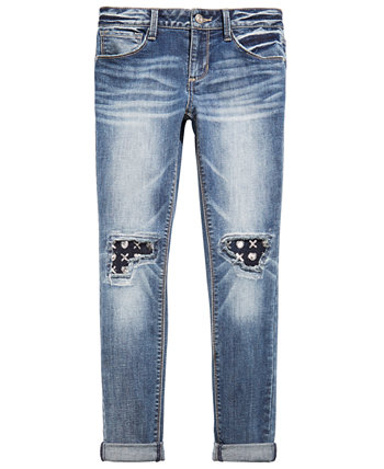 Big Girls Knee-Patch Jeans Imperial Star