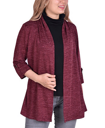 Women's Plus Size 3/4 Sleeve Cardigan NY Collection