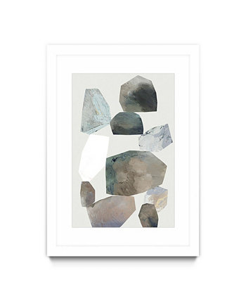 "Rocking II Matted and Framed Art Print, 30"" x 40"" Giant Art"