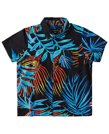 Little Boys Hi Garden of Eden Shirt Quiksilver
