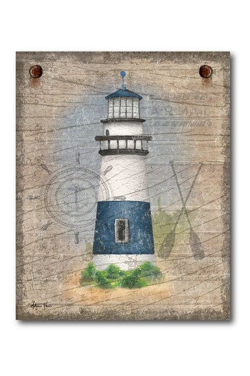 Lighthouse Gallery Wrapped Canvas Wall Art Courtside Market