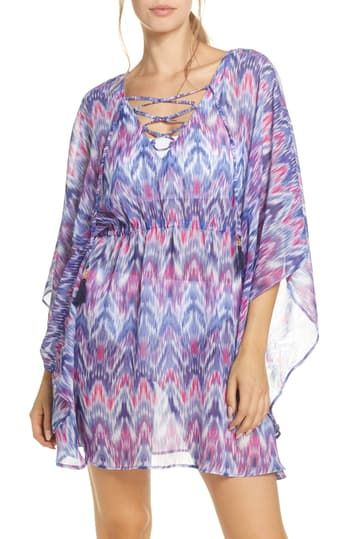 Туника Mirage Lace Front Tie Dye Cover-Up Tommy Bahama