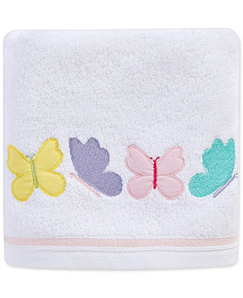 "Spring Butterfly 16"" x 28"" Hand Towel, Created for Macy's Martha Stewart Collection"