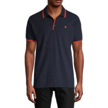 Short-Sleeve Piqué Polo Cult Of Individuality