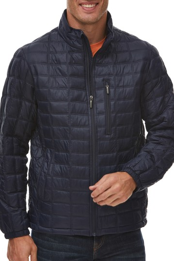 Box Quilted Thermoluxe Puffer Jacket Rainforest