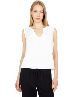 Solid Chelsea Gauze Taylor Shirt-Tail Tank Dylan by True Grit