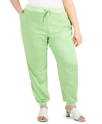 Plus Size Cuffed-Ankle Joggers, Created for Macy's Alfani