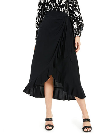 INC Ruffled Wrap Skirt, Created for Macy's INC International Concepts