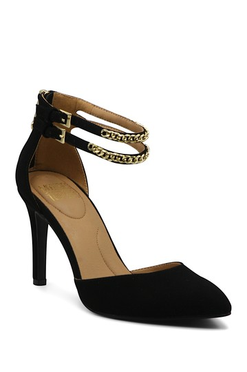 Anjel Chainlink Ankle Strap Pump Mootsies Tootsies