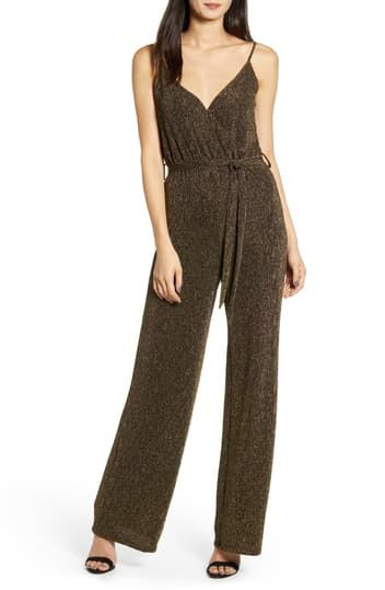Florence Lurex Knit Jumpsuit Cupcakes and Cashmere