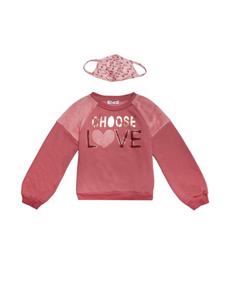 Big Girls Choose Love Sweater and Matching Mask Beautees