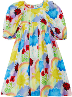 Weather Paint Tencel Dress (Toddler/Little Kids/Big Kids) Stella McCartney Kids