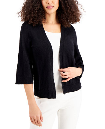 Cotton Slub Cardigan, Created for Macy's J&M Collection