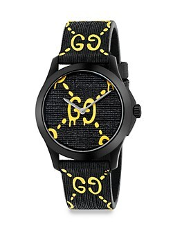 G-Timeless Rubber Strap Watch GUCCI
