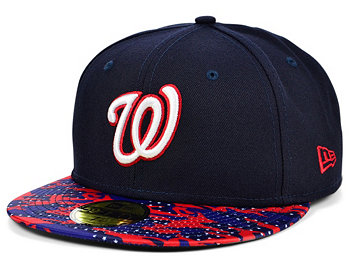 Washington Nationals Star Viz 59FIFTY Cap New Era