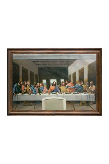 """The Last Supper with Modena Vintage , 29"""" x 41"""" No brands"""