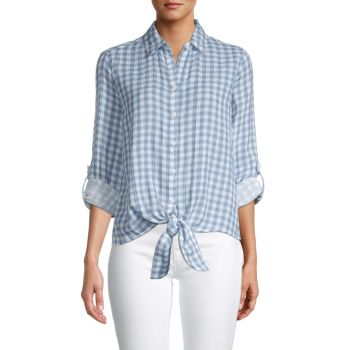 Yumi Cotton Shirt Beach Lunch Lounge