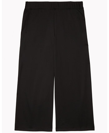 Women's Wide-Leg Cropped Pants With Pull-Up Loops Tommy Hilfiger