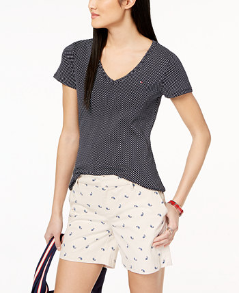Cotton Printed T-Shirt, Created for Macy's Tommy Hilfiger