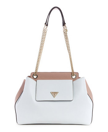 Sandrine Shoulder Satchel GUESS