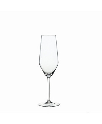 Style 8.5 Oz Champagne Flute Set of 4 Spiegelau