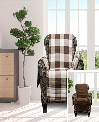 """Alba 69"""" x 75"""" Reversible Water-resistant  Chair Cover Duck River Textile"""