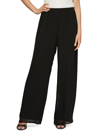 Petite Chiffon Palazzo Pants Alex Evenings