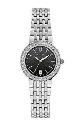 Women's Diamond Bracelet Watch, 26mm - 0.19 ctw Bulova