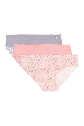 Lace Back Hipster - Pack of 3 Jessica Simpson
