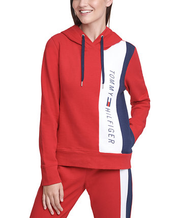 Colorblocked Graphic Hoodie Tommy Hilfiger
