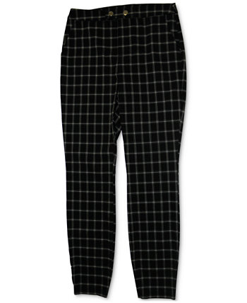 INC Plaid Skinny Pants, Created for Macy's INC International Concepts