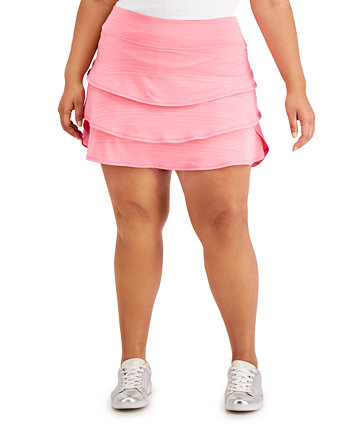 Plus Size Ruffled Skort, Created for Macy's Ideology