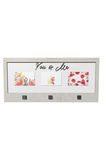 You & Me Opening Photo Frame With Hanging Hooks PTM Images