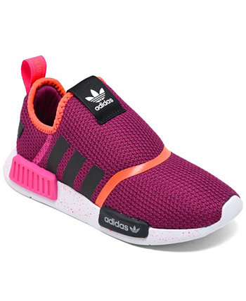 Little Girls NMD 360 Slip-On Casual Sneakers from Finish Line Adidas