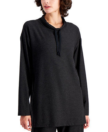 Drawstring-Neck Tunic Eileen Fisher