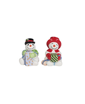 Holly Jolly Salt And Pepper Set Fitz and Floyd