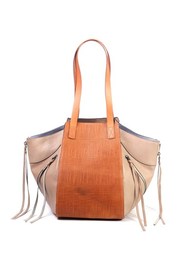 Leather Utility Tote Bag Old Trend