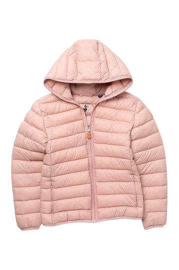 Hooded Packable Puffer Jacket (Big Girls) Save the Duck